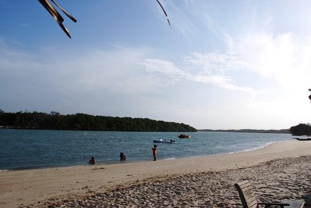 Praia do Macapá em Luís Correia Piauí